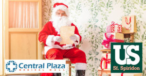 Moș Crăciun vine la Central Plaza Medical Mall | 22 decembrie 2018