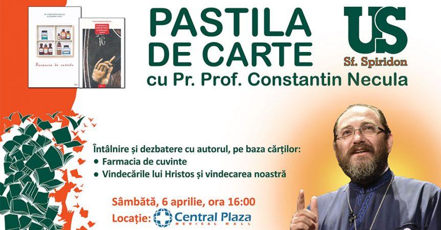 Pastila de carte cu Pr. Constantin Necula | 6 aprilie 2019