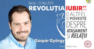 Revoluția Iubirii cu Gáspár György | 25 mai 2019