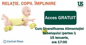 Curs Diversificarea Alimentației Bebelușului (partea I)