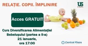 Curs Diversificarea Alimentației Bebelușului (partea a II-a)