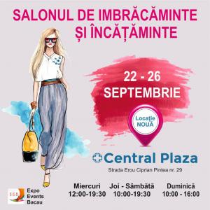 Salonul de îmbrăcăminte și încălțăminte 22 – 26 septembrie 2021